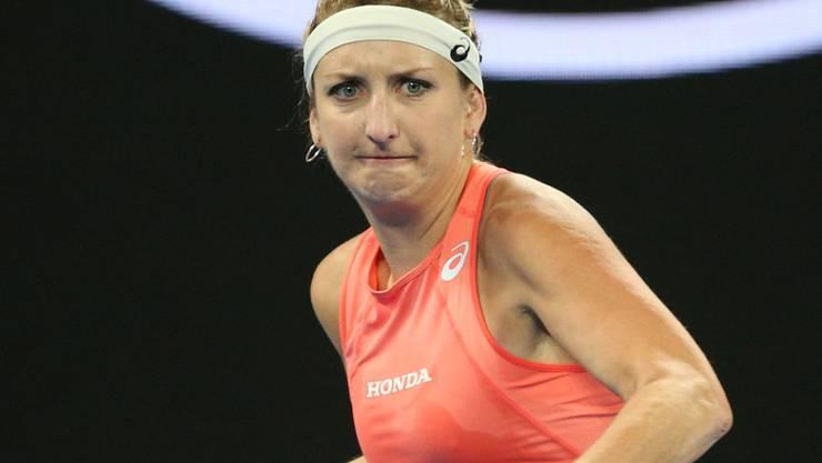 In der 3. Runde war Endstation: Timea Bacsinszky schied am Australian Open als letzte Schweizerin aus