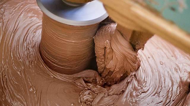 US-Arbeiter fiel in Schokolade-Bottich