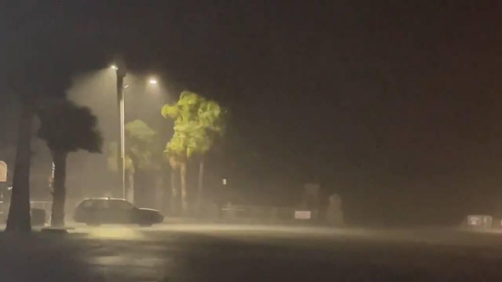 Hurrikan «Elsa» trifft auf Florida