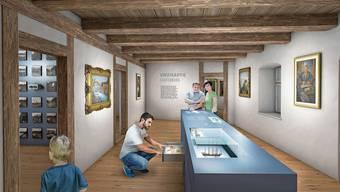 Neues Konzept: So soll das Museum Schiff nach der Sanierung und der Erweiterung aussehen.
