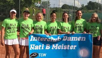 Im vergangenen Sommer feierten die Damen ihren Meistertitel in der NLB.