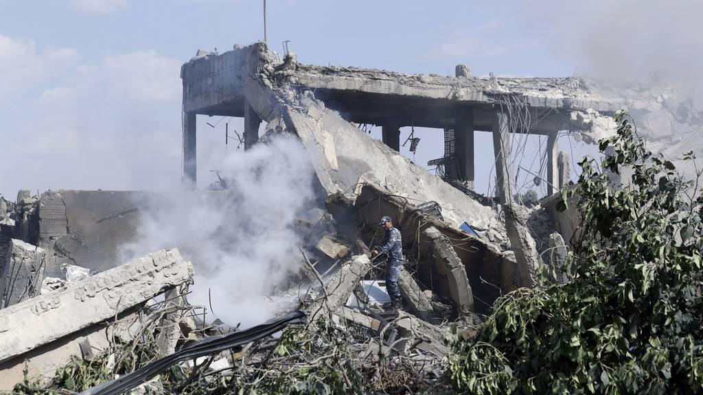 Heftige Reaktionen nach Angriffen auf Syrien