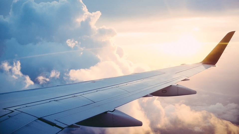 Nebel und weg_Flugzeug Wolken
