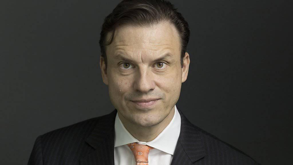 Swiss-Life-CEO Patrick Frost im März 2017, kurz bevor seine Krebserkrankung öffentlich wurde.