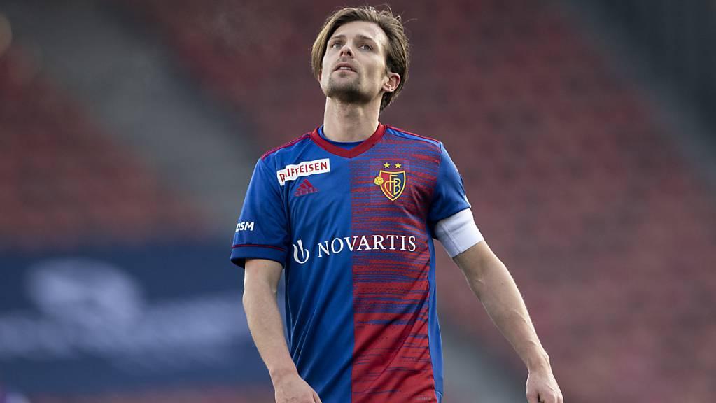 Captain Valentin Stocker ist bei Trainer Ciriaco Sforza in Ungnade gefallen.