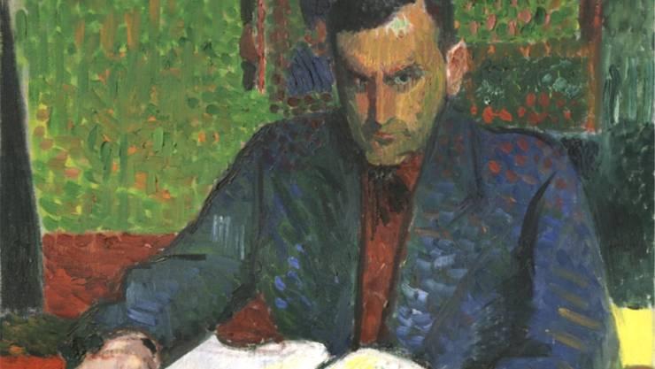 Der Komponist Richard Flury, wie ihn sein Freund, der Maler Cuno Amiet, sah.