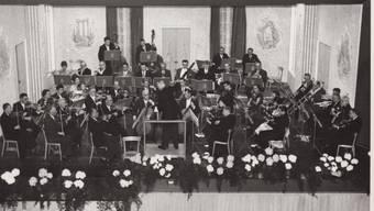 Bilder aus der 100-jährigen Geschichte des Stadtorchesters Grenchen