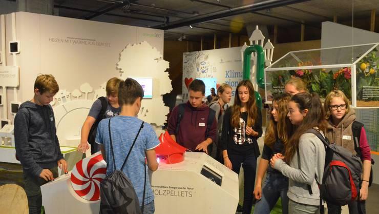 Die Schülerinnen und Schüler an der Kreisschule Regio Laufenburg (KSRL) erlebten einen abwechslungsreichen, spannenden Tagesausflug