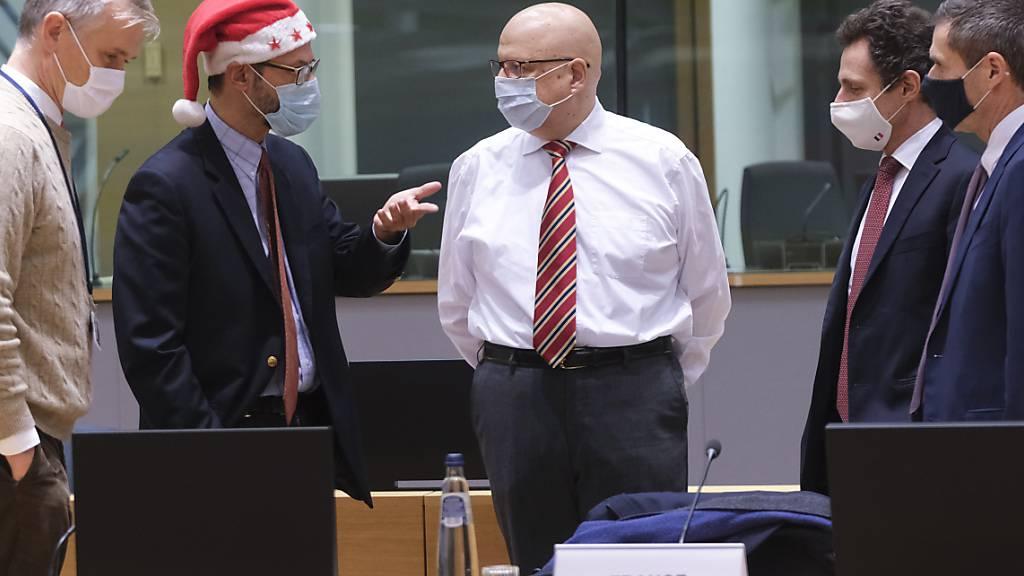 Erleichterung über Brexit-Einigung - EU-Staaten prüfen Vertrag