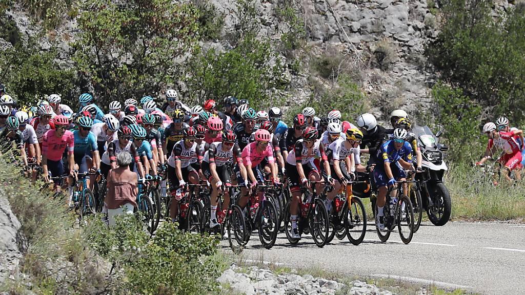 Der Tour-Tross nähert sich den Pyrenäen.