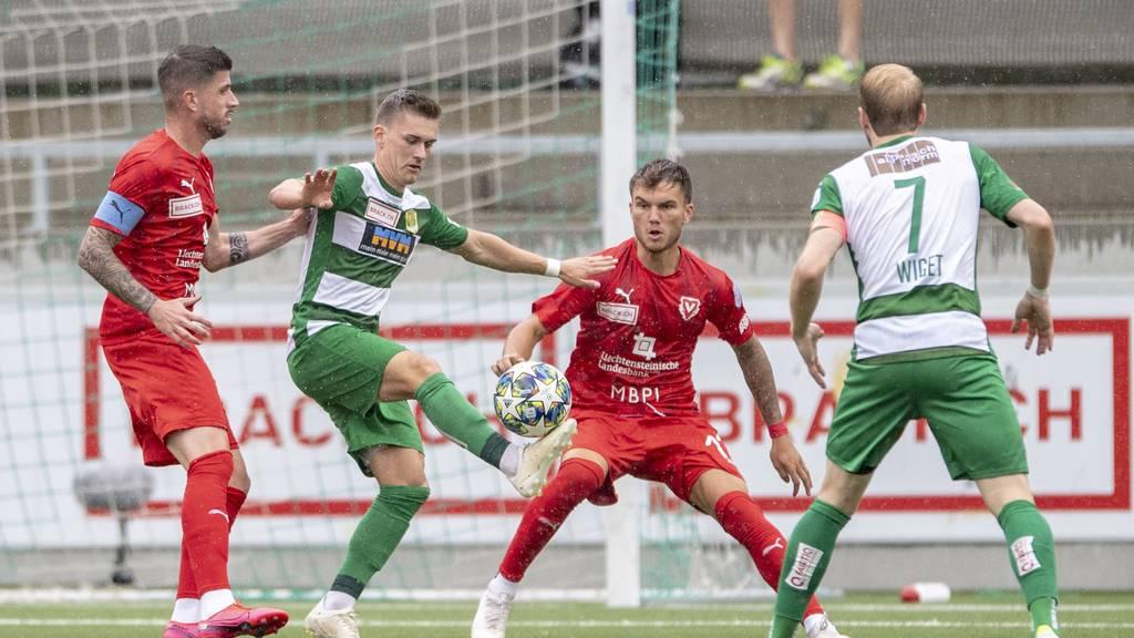 Kriens schlägt Vaduz mit 2:1 und beendet Saison auf Platz 5