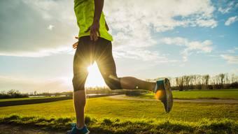 Jogging liegt im Trend.