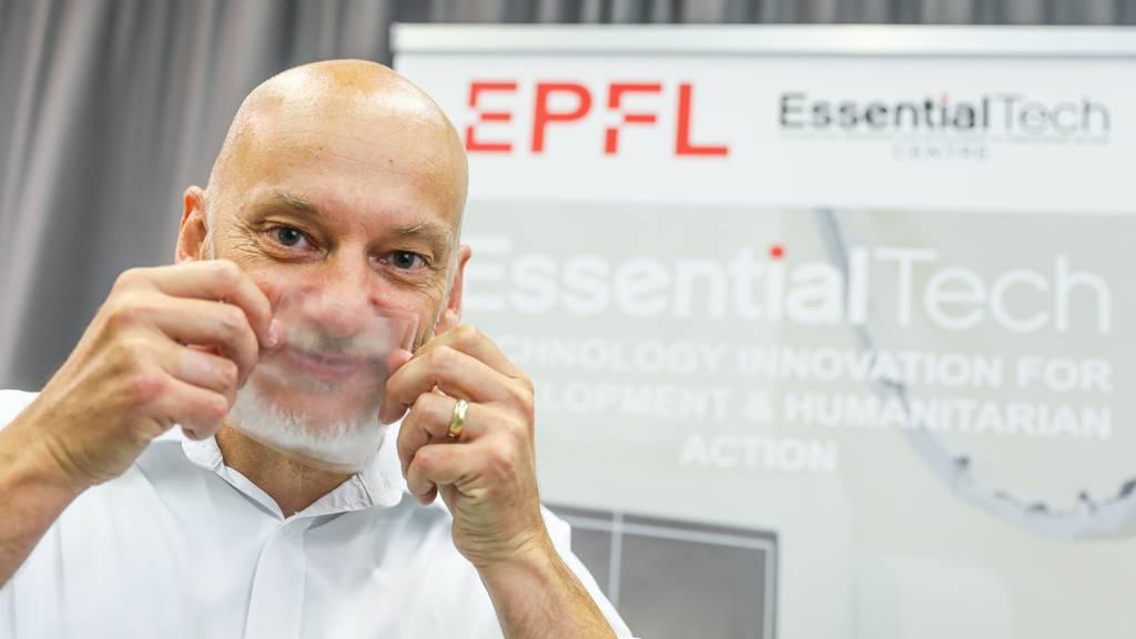 Forscher entwickeln erste vollständig transparente Gesichtsmaske