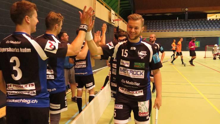 Pascal Moser sorgte mit dem Treffer ins leere Tor gegen Bäretswil für die Entscheidung.