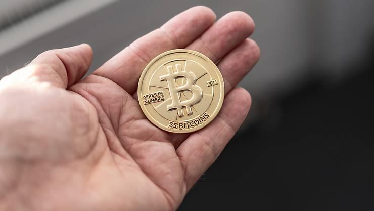 Der Wertzerfall des Bitcoin nimmt dramatische Züge an. (Archivbild)