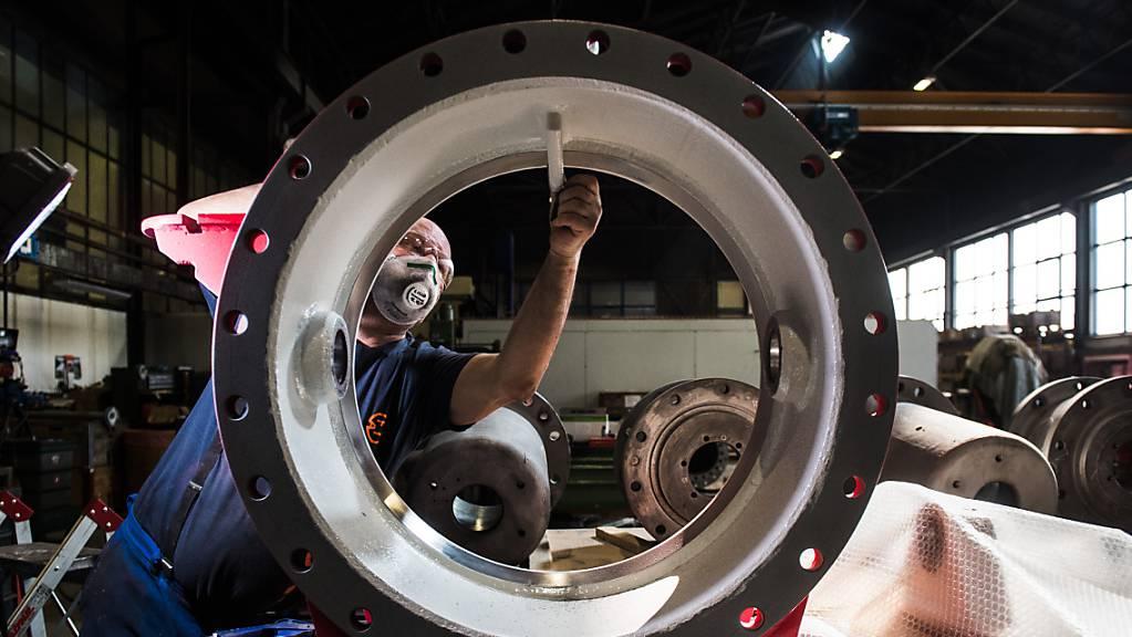 Die Schweizer Maschinen-, Elektro- und Metall-Industrie vermeldet wieder steigende Auftragseingänge. (Archivbild)