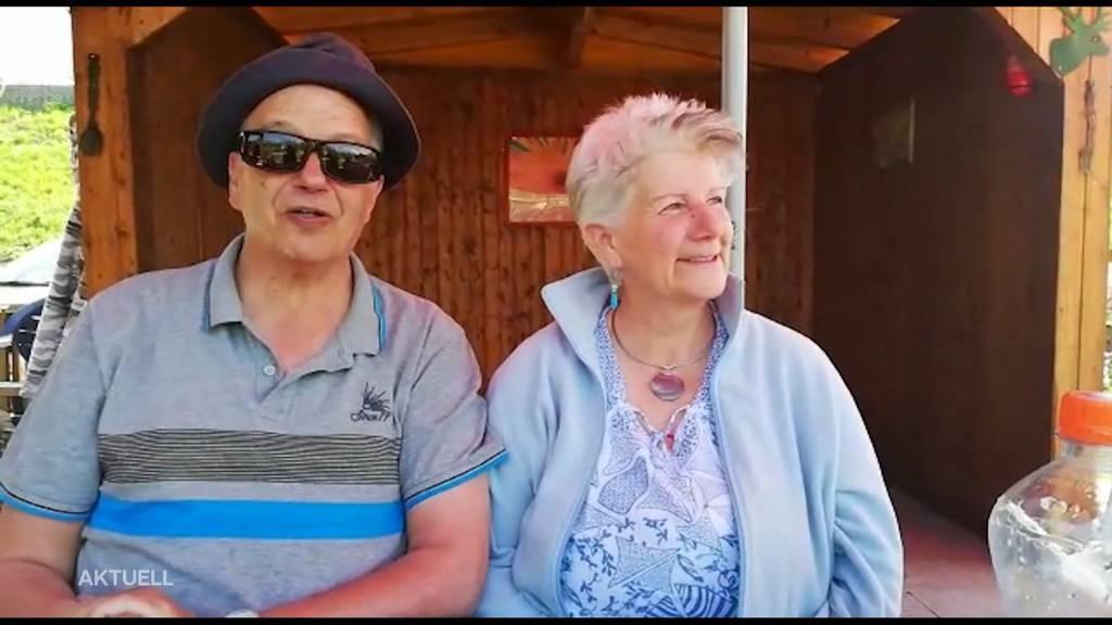 Grosseltern schicken Ostergrüsse an ihre Enkel
