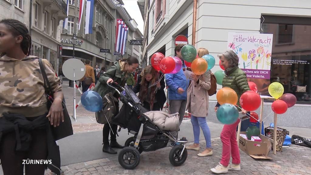 Solidarität für Valeria: Halbe Million Franken innert 2 Tagen