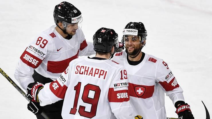 Die Schweizer spielten eine gute Partie und gewannen diese verdient mit 3:0.