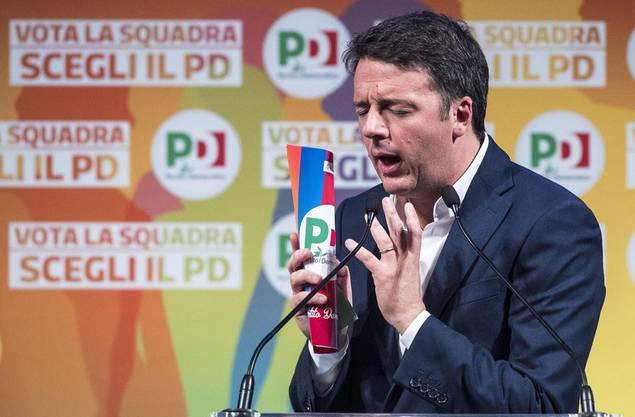 Matteo Renzi gilt schon jetzt als der grosse Verlierer dieser Wahlen.
