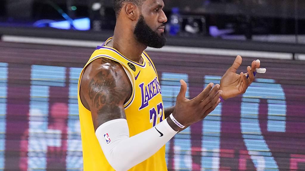 Lakers vor Einzug in NBA-Finalserie