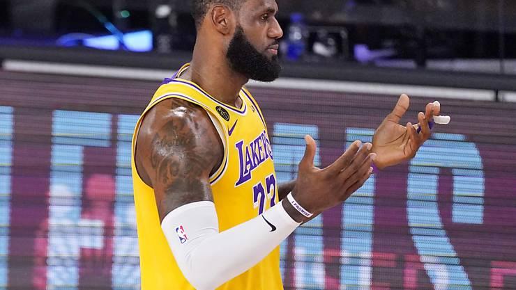 LeBron James ist der Erfolgsgarant der Lakers