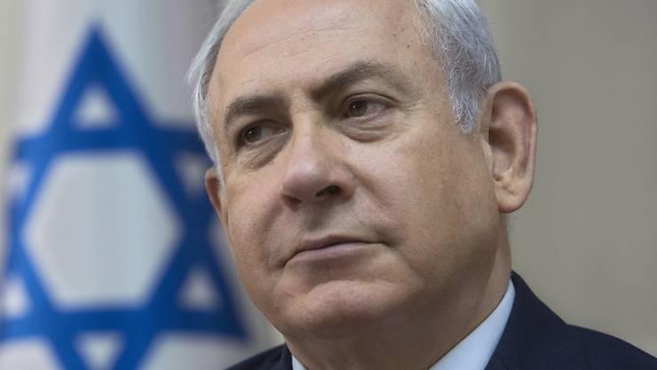 In der Kritik: Israels Regierungschef Benjamin Netanjahu.