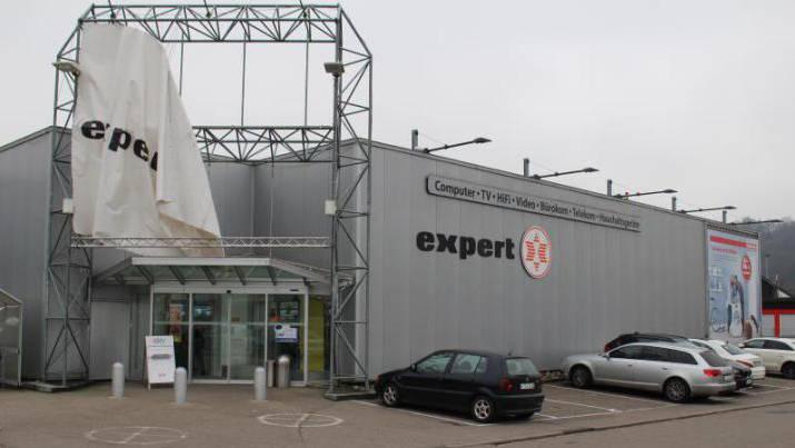 Das Elektrofachgeschäft Expert Hettler in der Waldshuter Schmittenau ist insolvent