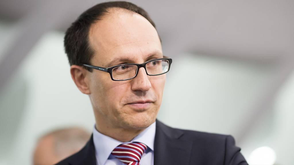 Der St. Galler Finanzdirektor Marc Mächler wird voraussichtlich am 30. September das Budget für 2022 präsentieren. (Archivbild)