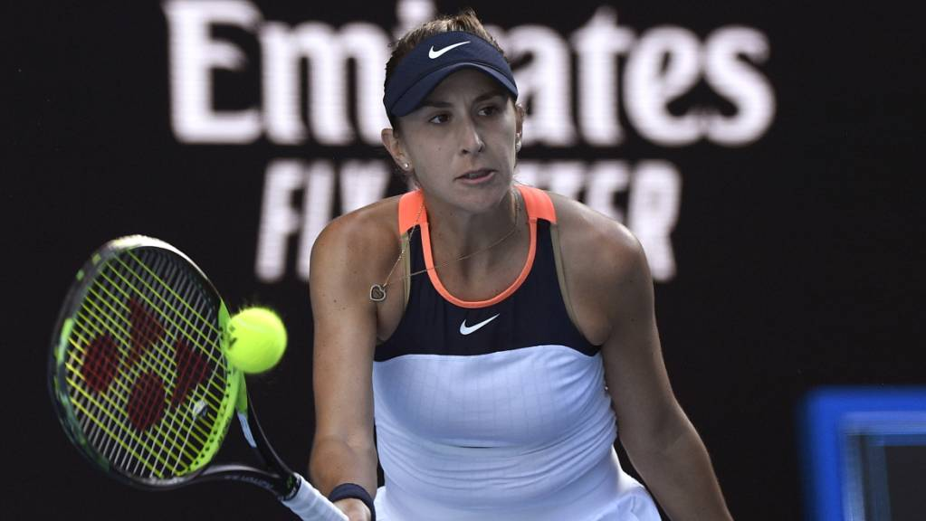 Belinda Bencic war im Final ohne Chance