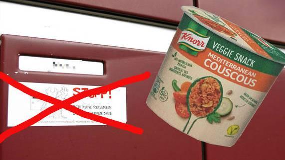 Nimm Den Stopp Werbung Kleber Weg Dann Gibts Couscous