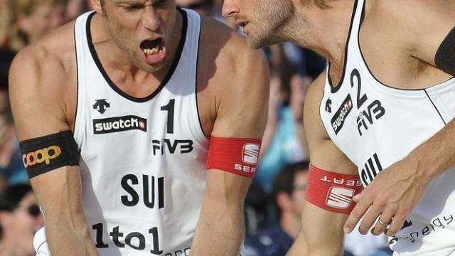 Sascha Heyer und Patrick Heuscher