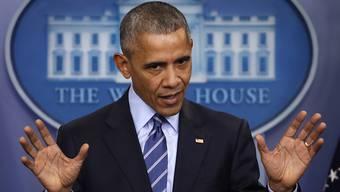 Barack Obama greift gegen Russland durch.