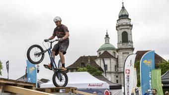 Eröffnung der Bike Days in Solothurn