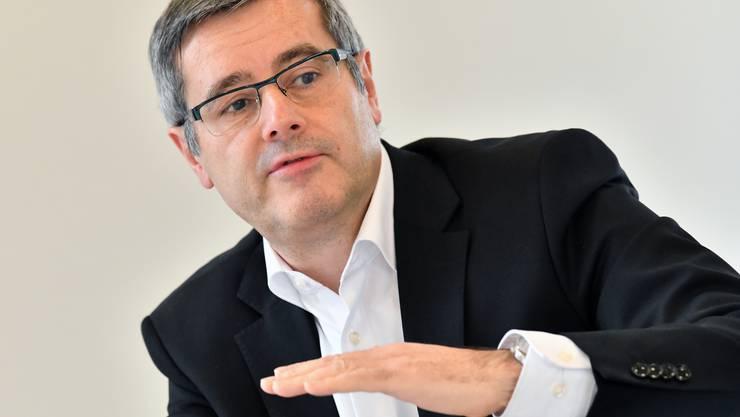 Oltens Finanzdirektor Benvenuto Savoldelli.