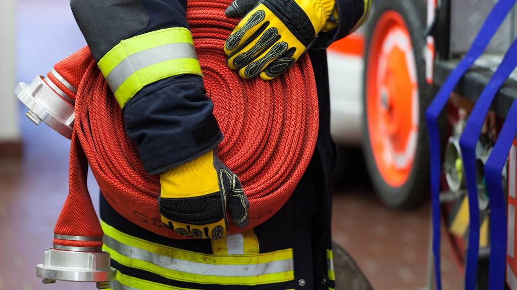Zwei Verletzte bei Brand in Einfamilienhaus
