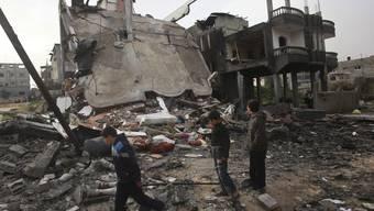 Nach tödlichen Schüssen auf einen Israeli hat die israelische Luftwaffe am Dienstag Ziele im Gazastreifen bombardiert (Archivbild).