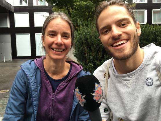 Simone Bosshart engagiert sich im Schmetterlingsförderungsverein