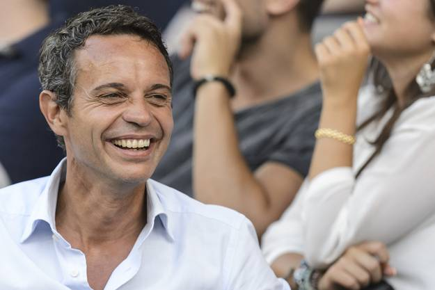 FCB-Präsident Bernhard Heusler hat gut Lachen: Sein Klub ist auf dem Weg in die nächste CL-Qualifikationsrunde
