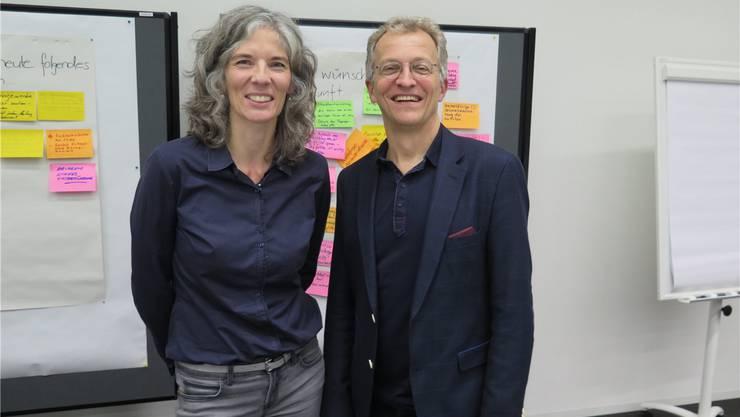 Eva Gerber und Markus Dietler.