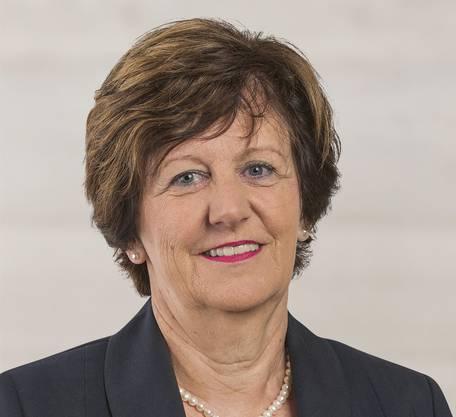 Ida Glanzmann, Präsidentin der sicherheitspolitischen Kommission des Nationalrats.