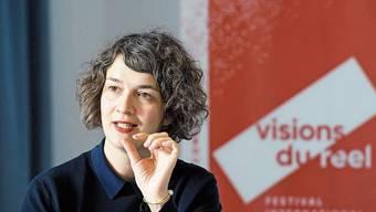 Emilie Bujès, künstlerische Leiterin des internationalen Dokumentarfilmfestivals in Nyon.