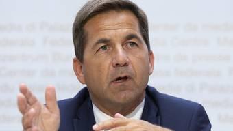 Bundeskanzler Walter Thurnherr erklärt das weitere Vorgehen nach der Aufhebung der Abstimmung über die Heiratsstrafe. Den Fehler nehme der Bundesrat sehr ernst, sagte er.