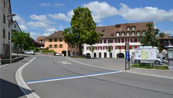 Sanierung Kantonsstrasse in Niederlenz: vorher und nachher