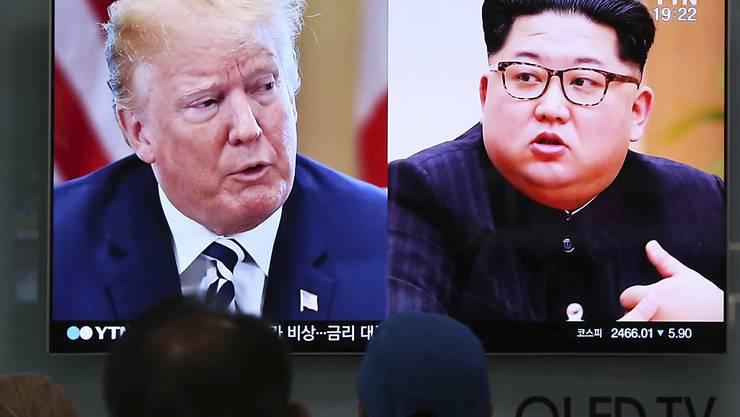 US-Präsident Donald Trump und Nordkoreas Machthaber Kim Jong Un verhandeln weiter über ein mögliches direktes Treffen am 12. Juni in Singapur.