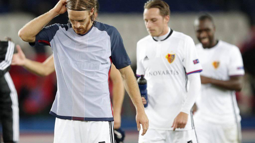 Wollen in Lugano das Resultat der Champions League in Paris vergessen machen: Michael Lang (links) und Luca Zuffi