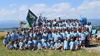 Jungwacht Blauring Muri im Sommerlager 2019