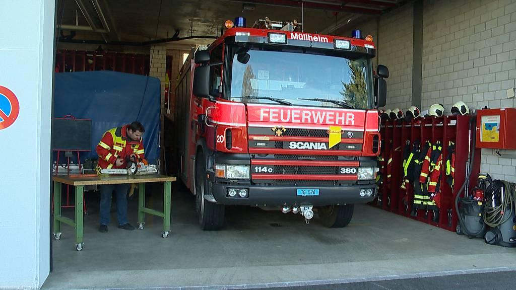 So bereitet sich die Feuerwehr auf «Sabine» vor