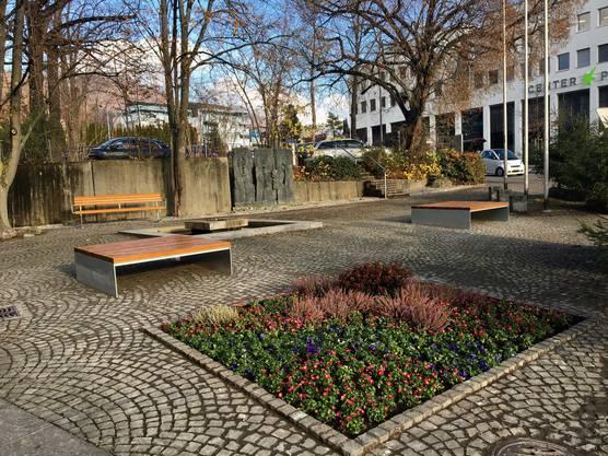 Neue Sitzgelegenheiten in Wettingen