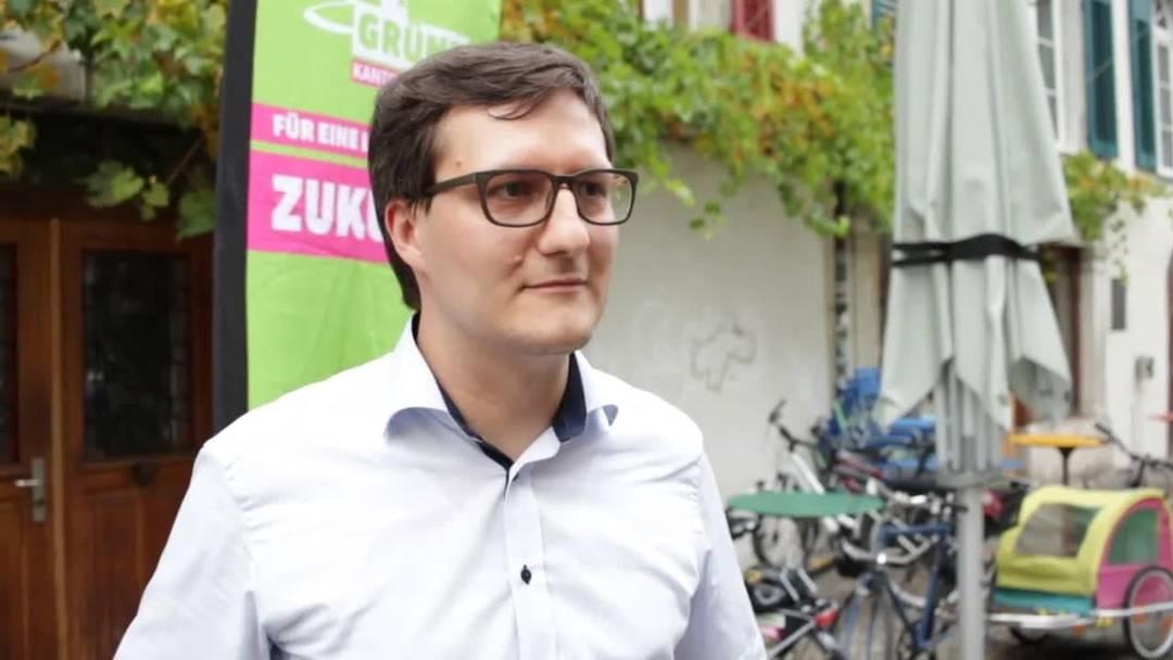 «Es ist sensationell» – Daniel Urech, Präsident der Grünen Kanton Solothurn, spricht über den gewonnenen Nationalratssitz